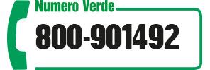 Numero verde 800901492